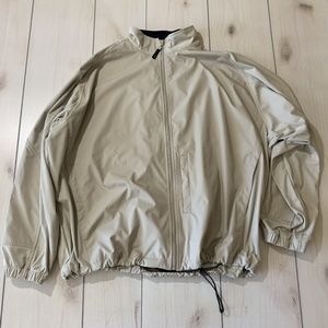 mens XL greg norman golf jacket tan